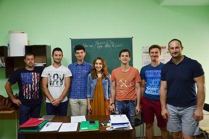 Рыцарский состав группы Upper - Intermediate:)