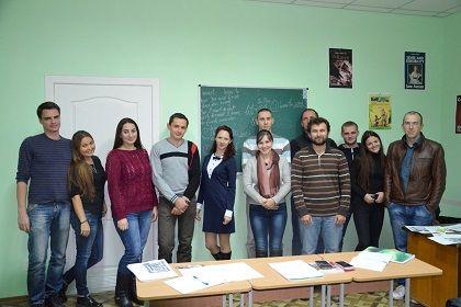 Преподаватель Надежда и ее воспитанники:))