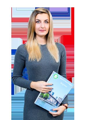 Преподаватель Екатерина Гернеза индивидуальны занятия английским