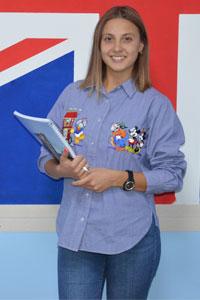 Анастасия Денисова преподаватель английского язык