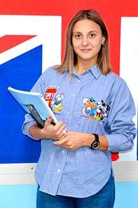 Анастасія Гринкевич, викладач англійської мови