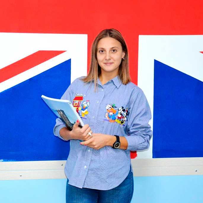 Анастасия — преподаватель английского языка