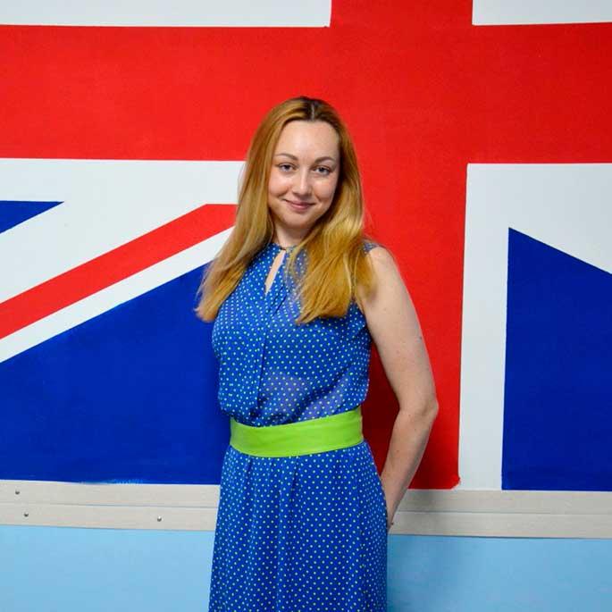 Ольга — преподаватель английского язык
