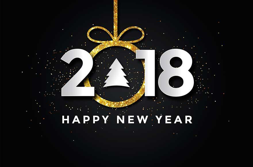С новым Годом 2018 Number One