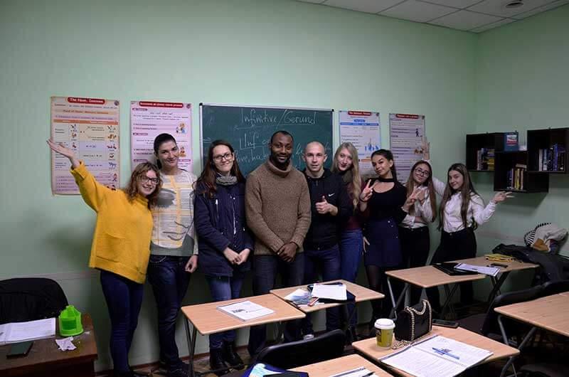 Курс английского с носителем языка в Number One Одесса