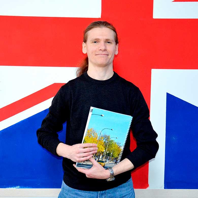 Алексей Яковенко преподаватель английского и немецкого в Number One