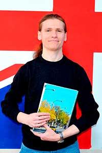 Олексій Яковенко, викладач англійської та німецької в Number One
