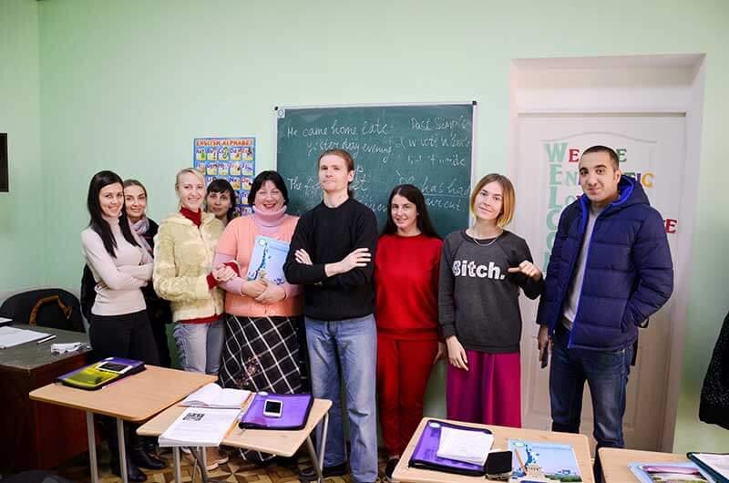 Обучение английскому Одесса Number One