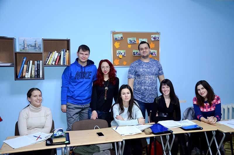Курсы английского в Одессе с носителями языка