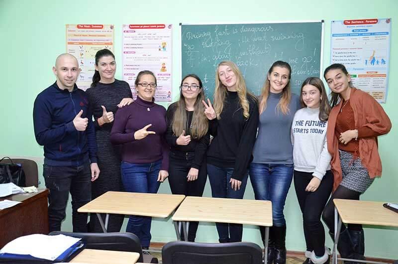Изучение английского в Одессе