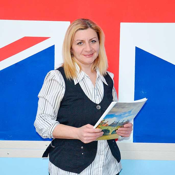 Nune Hovhannisyan Преподаватель английского