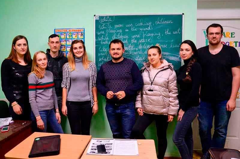 Занятия английским в Одессе
