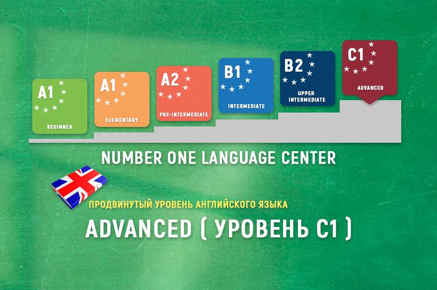 Уровень английского языка Advanced C1