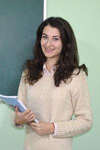 Аджийская Ирина преподаватель английского в Number One