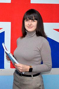 Антоненко Лілія викладач англійської в Number One