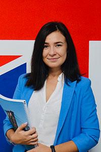 Анастасія Сєрова, викладач англійської та іспанської мов